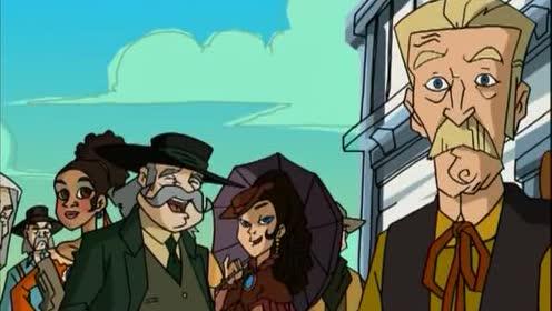 成龙历险记:成龙曾祖父退休了!把治安官的职位让给了特鲁!