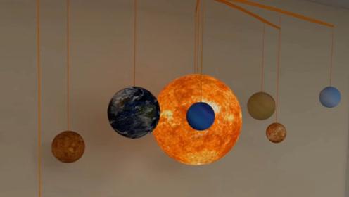 太阳到底有多大呢?看它带领着一众行星小弟排开,答案已显而易见