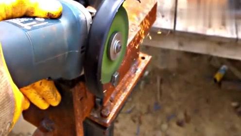 手电钻的又一新用法,这都能想到,真是脑洞大开了!