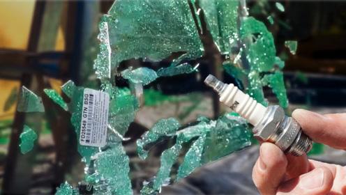 火花塞上的细小陶瓷碎片,就能将钢化玻璃击碎?这陶瓷可不简单!