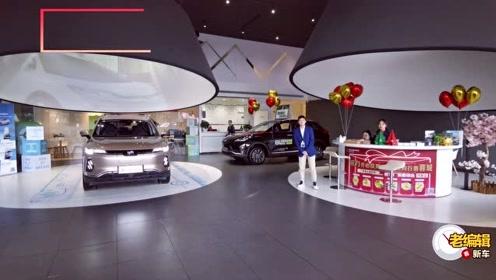 或成为新能源市场新宠的威马EX6已到店