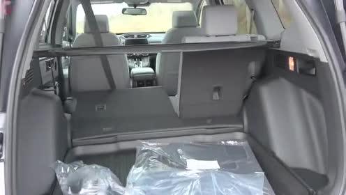 2020款 本田 CR-V,后排座椅折叠展示