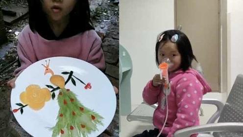 姐弟同患重病,6岁姐姐因刀工走红网络:3岁多就自己切菜做饭