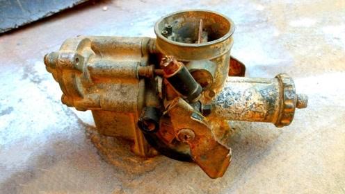 修复一个生锈的化油器,看完我服了,这是有多闲啊!
