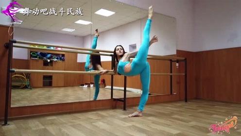 练舞整整20年!乌克兰女孩的柔韧度,超出身体极限了