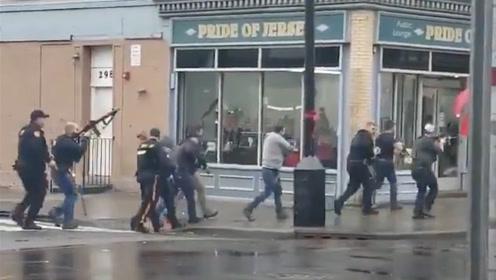 美国新泽西州爆发枪战6人死亡现场枪声持续不断