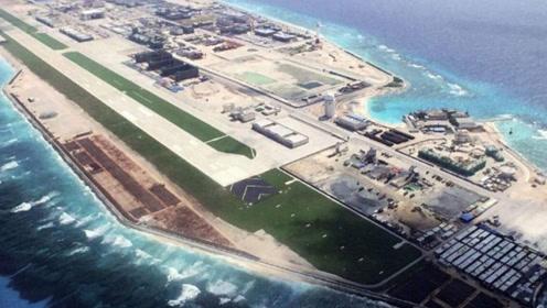 南沙永暑岛成保障基地,可遥控400公里外的万安滩,东南各国仰天长叹