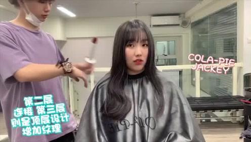 长脸女生发型改造前后对比,论发色对于女生颜值的改变有多大!