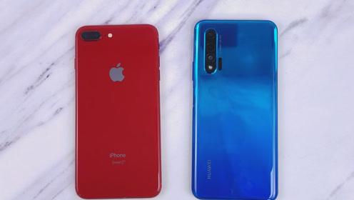 华为Nova6速度对比iPhone8P!iOS流畅的优势还在