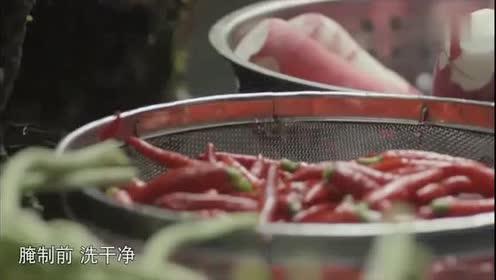 《舌尖上的中国》:地道的泡菜鱼不能缺少泡姜和泡椒!超级美味!
