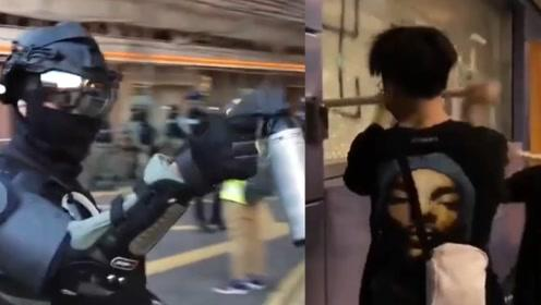 """穷凶极恶!香港暴徒""""丧尸化"""" 打砸抢烧""""私刑""""市民 血案背身"""