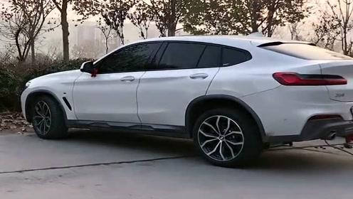 总以为这是一辆宝马x6,有钱谁会买宝马x4,这车真难看!