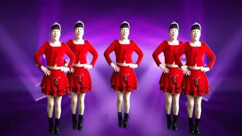 动感弹跳广场舞《迷茫的爱》4步点舞蹈好看好学带详细教学