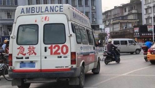 礼让救护车却被扣6分,车主申诉无果,不满问交警:做好事也罚?