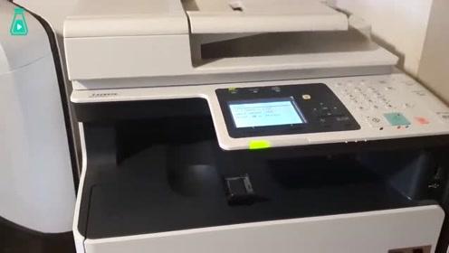 老哥脑洞大开用复印机印各种东西,结果一发不可收拾,场面失控啦