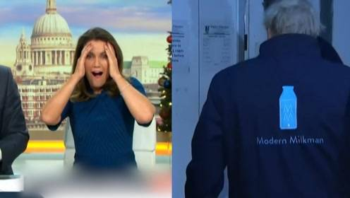"""约翰逊式""""冷静冷静""""! 英国首相为避记者采访躲进冰柜"""