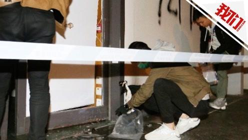 香港一寿司店离奇失火 消防部门怀疑有人投掷燃烧弹