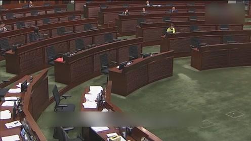香港建制派议员提动议 欲对煽暴派议员出手