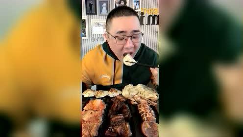 美食吃播:红烧肉真香