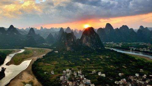 日本人在桂林修了一座观景台,耗时2年,看到的风景犹如仙境!