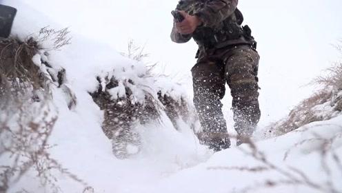 """百发百中!这场雪地里的""""魔鬼特训""""太刺激了"""