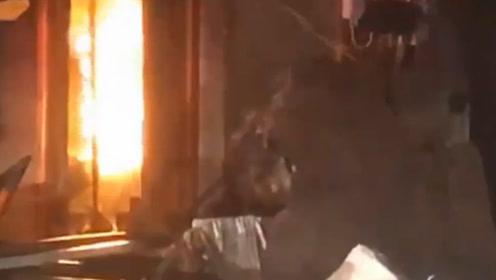 台湾台南火灾致7死2伤 纵火男自首,犯案前曾放话未料成真