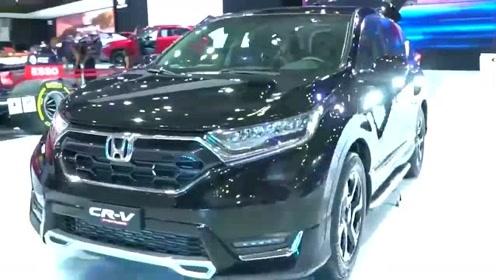 2020款本田CRV亮相,气质再提升,打开车门看到内饰才知道啥叫改变