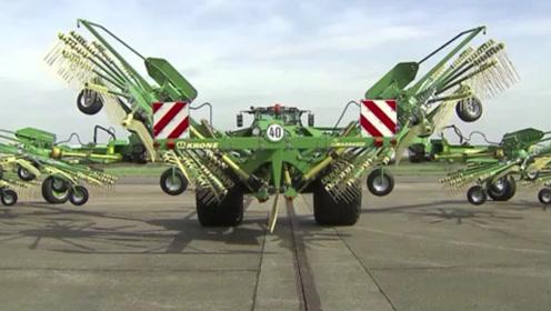 农业机械能有多先进?一起见识下德国的水平,足以证明实力!
