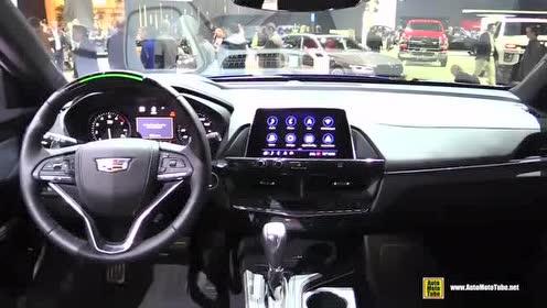 豪华轿车内饰展示,2020款 凯迪拉克 CT4-V