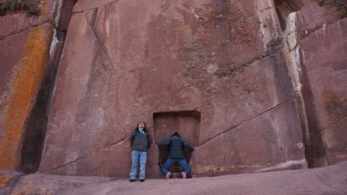 世界未解之谜!巨型石头上雕刻着一扇门,连科学家都无法解释