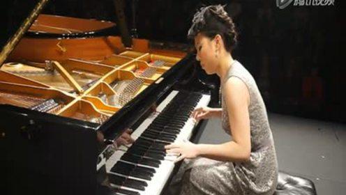 钢琴曲《小小竹排》黄子芳演奏图片