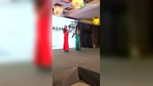 2016超级模特大赛重庆赛区米里酒慈善拍卖会晚宴