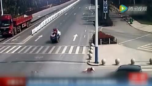电动车违章车祸合集