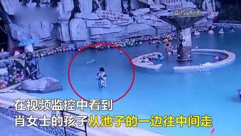痛心!让有孩子的妈妈都看看,吸取这个血的教训!男童戏水溺亡
