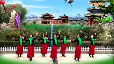 辉县体育场王琴广场舞--新年快乐又吉祥