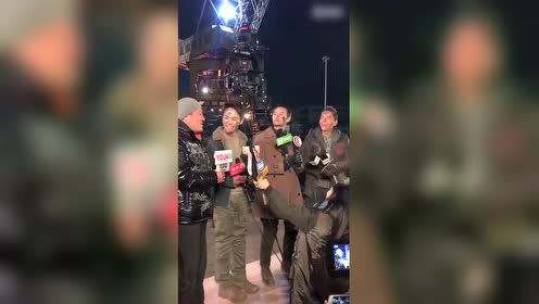 《英雄本色2018》探班视频 王凯马天宇造型曝光MAN到爆