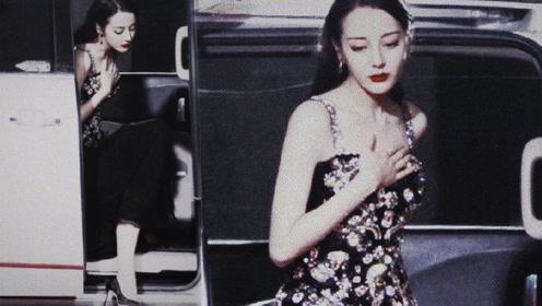 热巴下车姿势秒杀众女星 网友:被这幕美得呼吸一窒