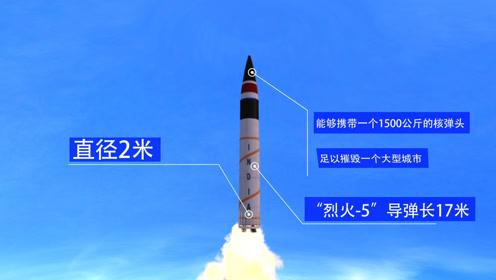 """射程5000公里覆盖中国?3D揭印度""""最强洲际导弹""""强在哪"""