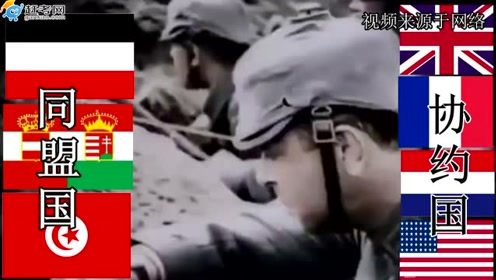 第一次世界大战,痛与恨的血泪史!