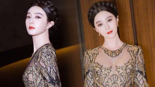 范冰冰穿花裙子去泰国 网友都在说脖子好诡异!