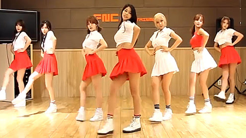 超萌美少女舞蹈教室热舞 AOA《Heart Attack》