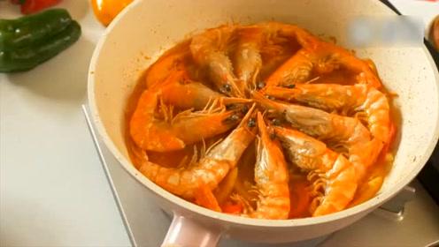 茄汁鲜虾,简单易学,味道酸甜可口,学会赶紧露一手