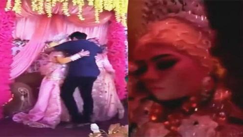 新娘被逼嫁表哥 婚礼上紧抱前男友当场哭昏