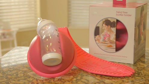 靠它拿奶瓶,喂孩子再不会手忙脚乱,双胞胎也能一人搞定