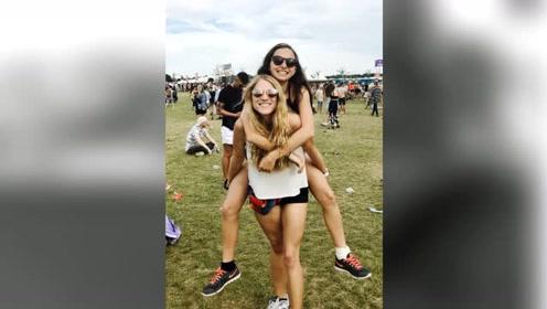 美国姑娘勇敢晒照直面缺陷 因罕见疾病一条腿异常粗大