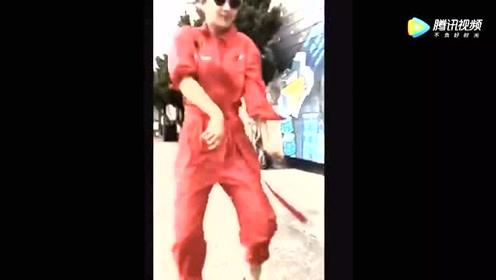 好欢快的杨紫,好激情的舞蹈