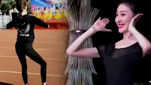 幼儿园老师带孩子们跳舞,我全程都在看老师跳