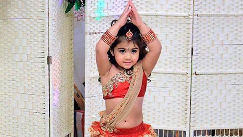 4岁女孩被妈妈妆成美人 小小年龄美成公主