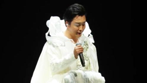 李玉刚演唱会出现重大舞台事故 5米升降台发声巨响