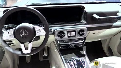 内饰更加豪华!2019 奔驰 G-Class G500